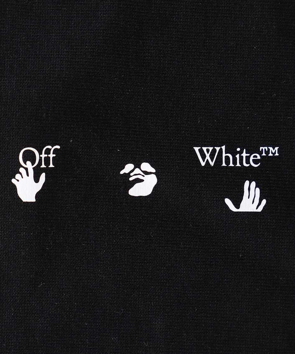 Off-White OMRG001R21JER001 OW LOGO Maschera 3