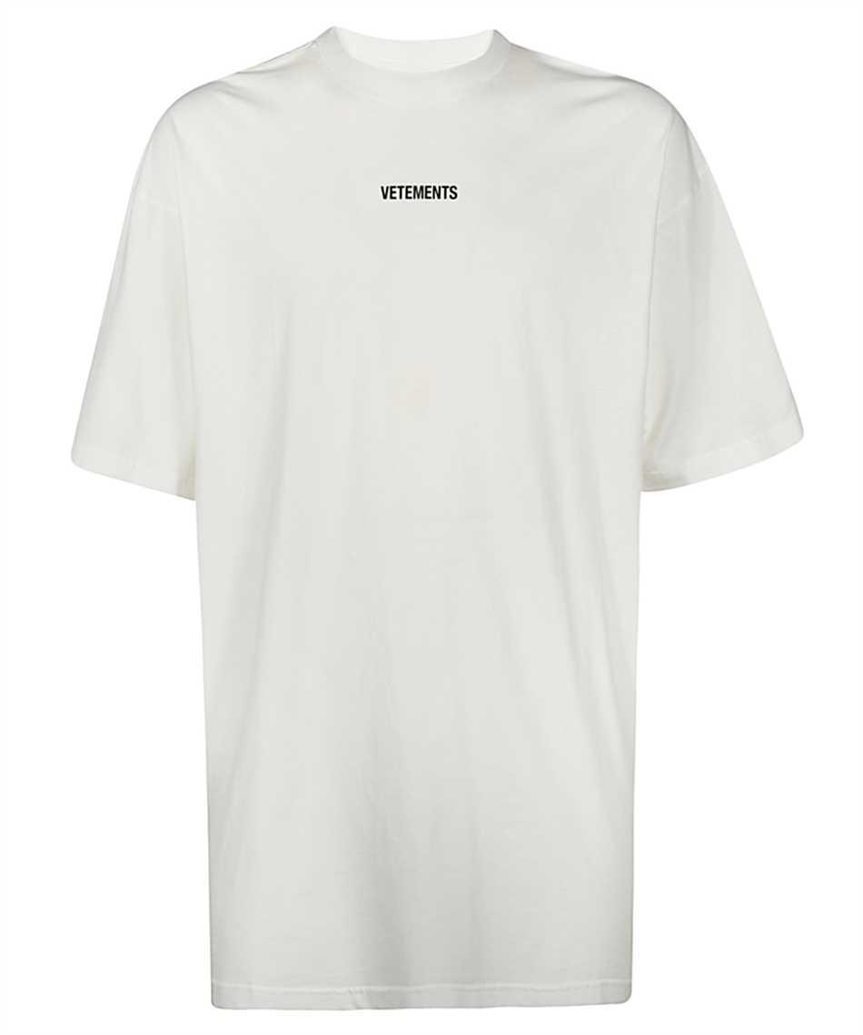 Vetements UE51TR540W LOGO PATCH T-shirt 1