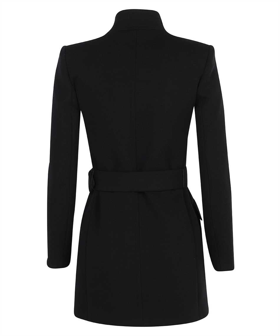 Saint Laurent 657668 Y288V LONG BELTED WOOL Cappotto 2