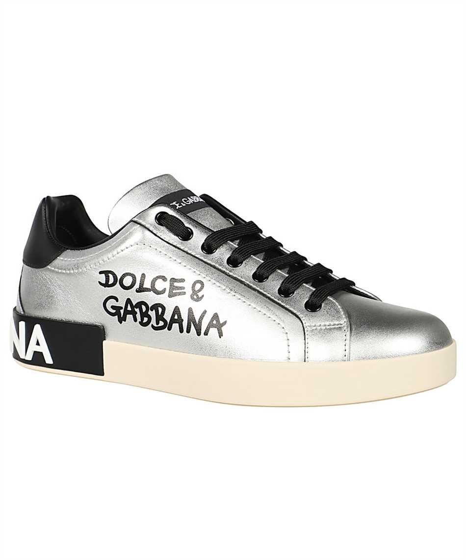 Dolce & Gabbana CS1772 AW151 METALLIC CALFSKIN NAPPA PORTOFINO Sneakers 2