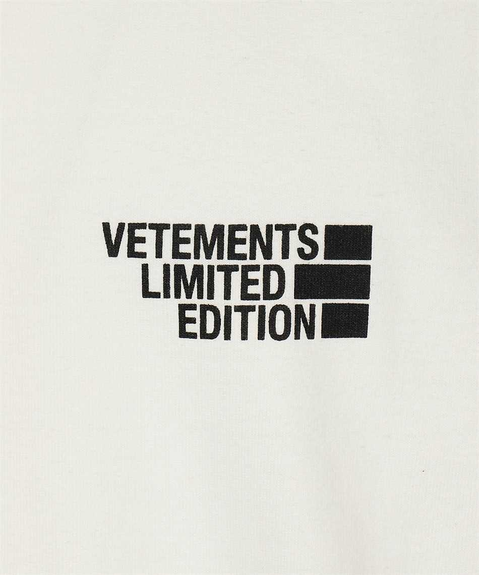 Vetements UE51TR720W LOGO LIMITED EDITION T-shirt 3