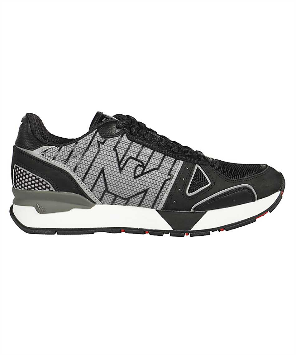 Emporio Armani X4X289 XM232 NUBUCK Sneakers 1