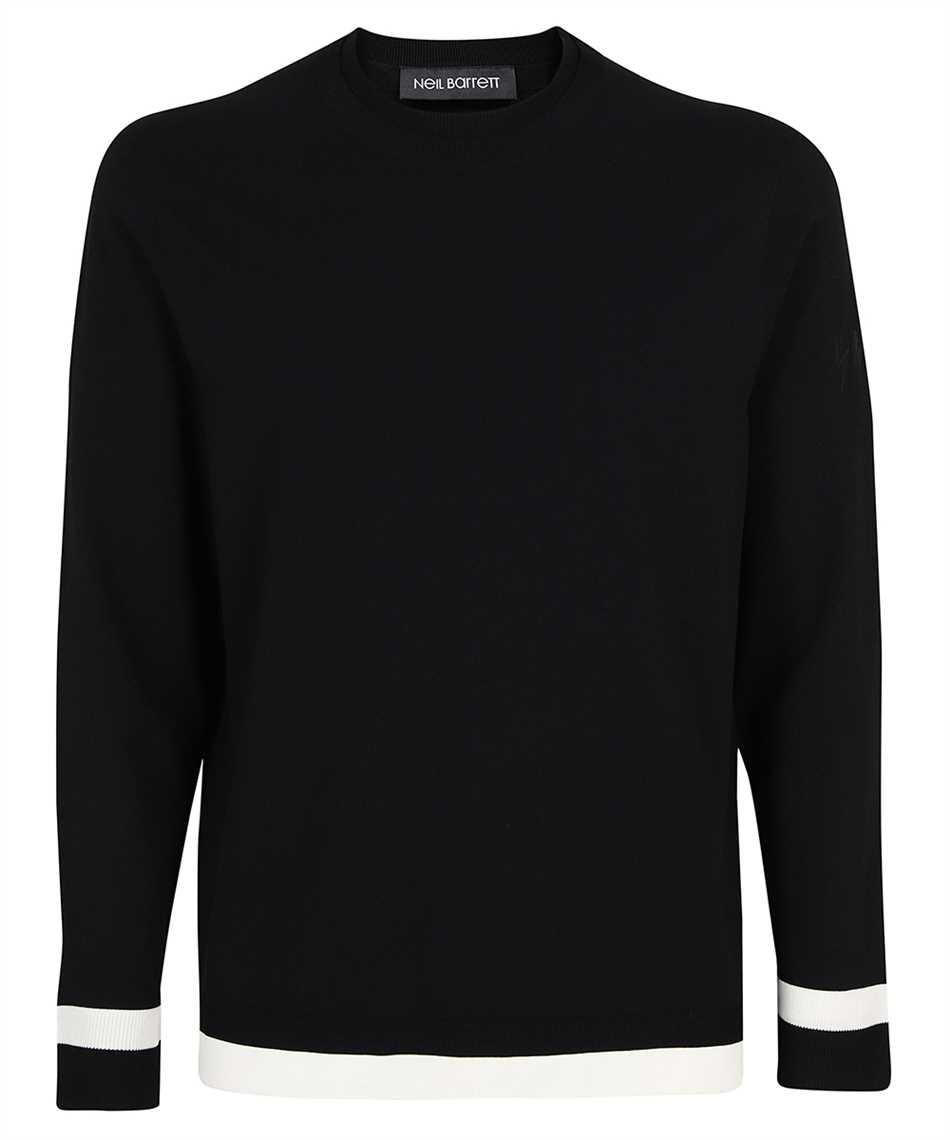 Neil Barrett BMA012E R602 DOUBLE CONTRAST Sweatshirt 1