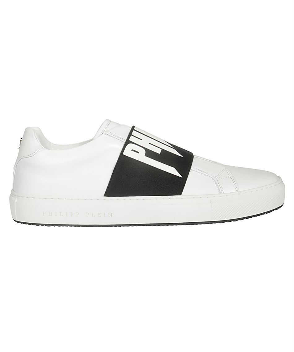 migliore bene outlet online Philipp Plein S19S MSC2013 PLE075N LO-TOP men's sneakers in leather White