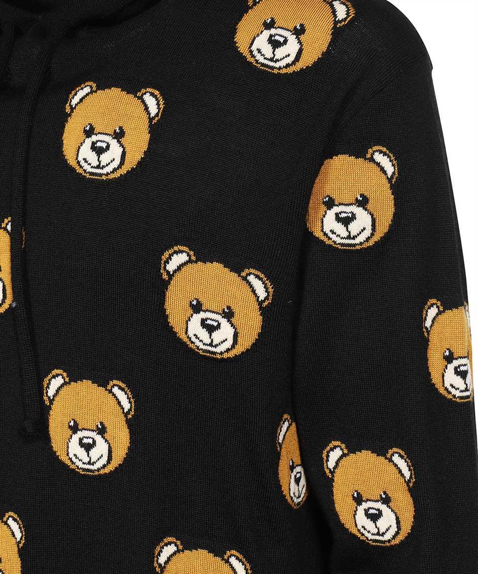 Moschino V 0922 5200 ALLOVER TEDDY BEAR Felpa 3