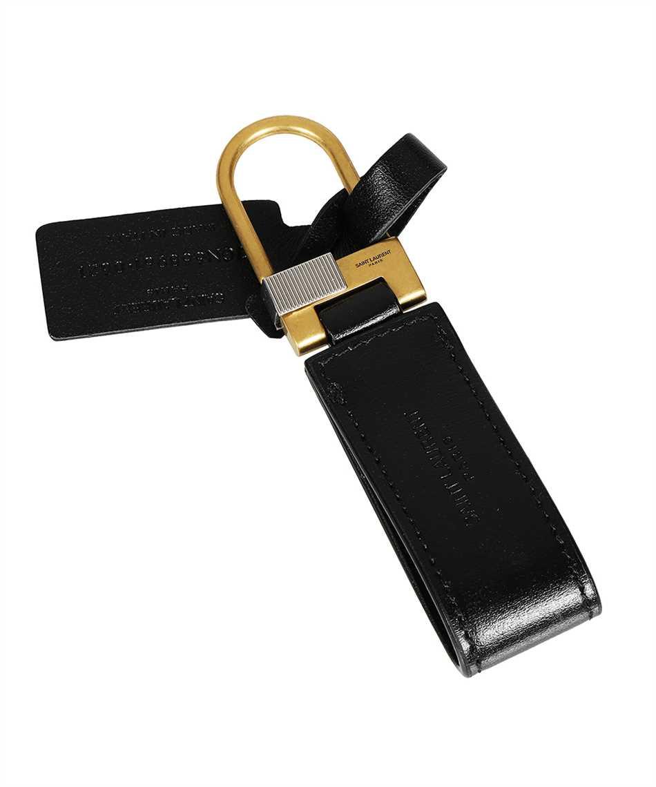 Saint Laurent 668961 02G0W TINY MONOGRAM Schlüsselanhänger 2