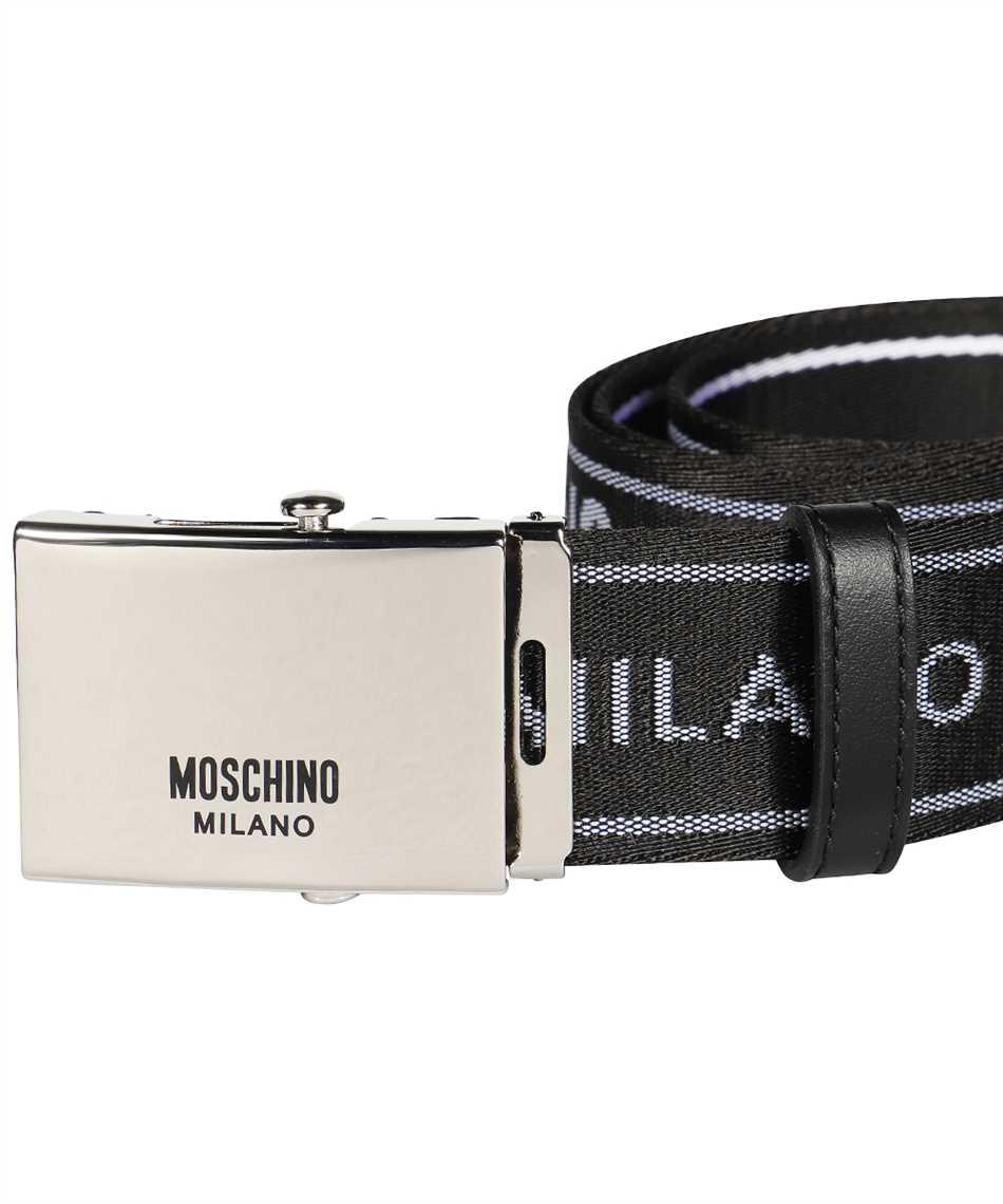 Moschino A8007 8209 LOGO TAPE Belt 3
