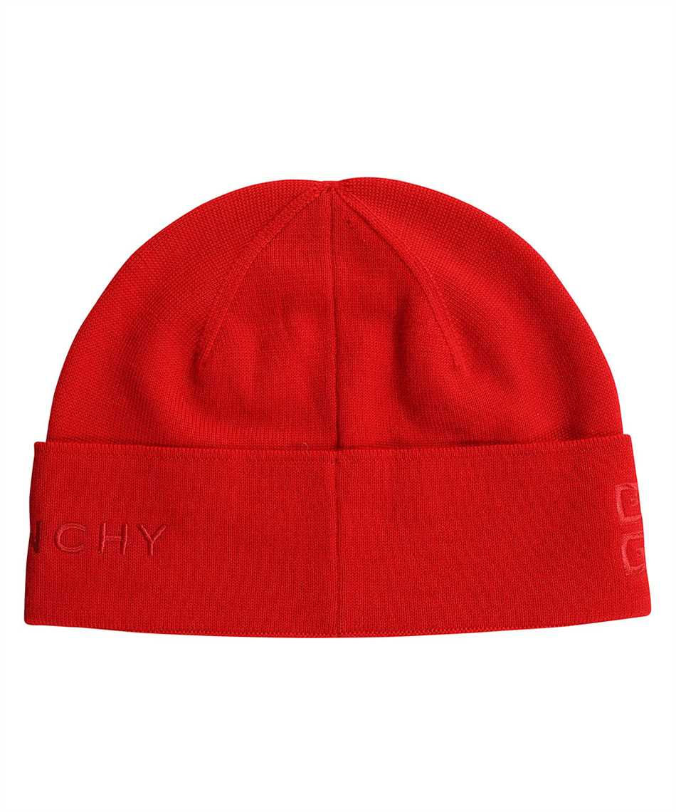 Givenchy BGZ01T G01D 4G GIVENCHY EMBROIDERED WOOL Cappello 2
