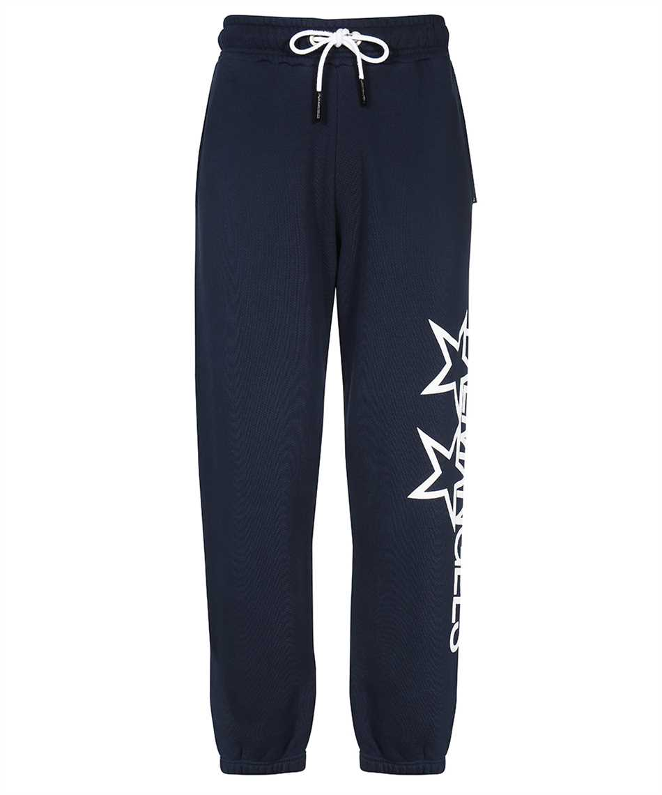 Palm Angels PMCH011F21FLE001 RACING STAR Trousers 1