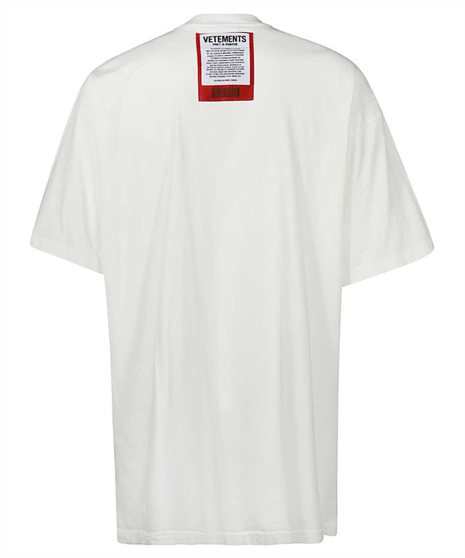 Vetements UE51TR540W LOGO PATCH T-shirt 2