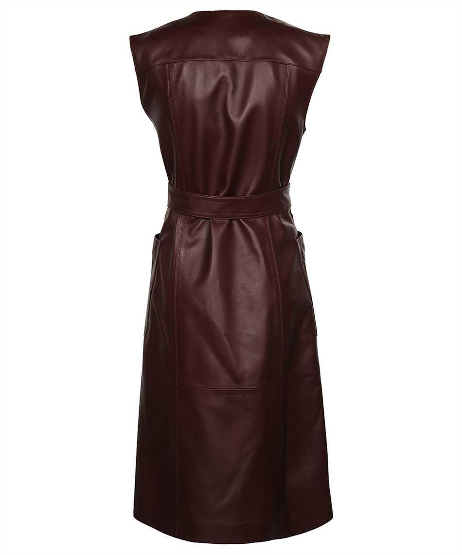 Karl Lagerfeld 216W1900 LEATHER GILET Kleid 2