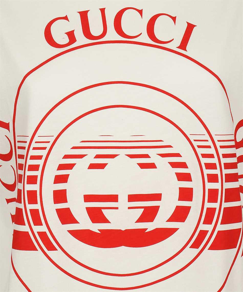 Gucci 580762 XJCQ8 LOGO PRINT T-shirt 3