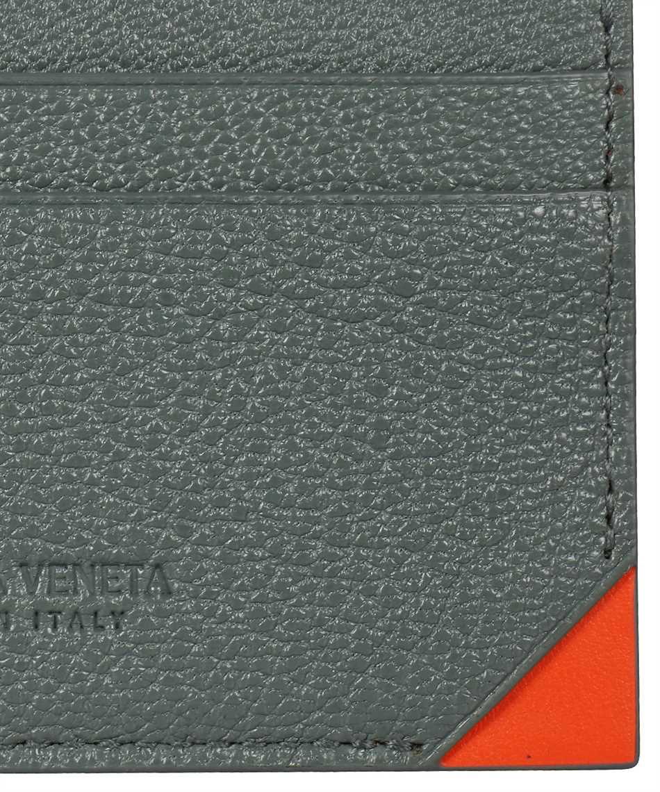 Bottega Veneta 629684 VA971 TEXTURED GOAT LEATHER Card holder 3