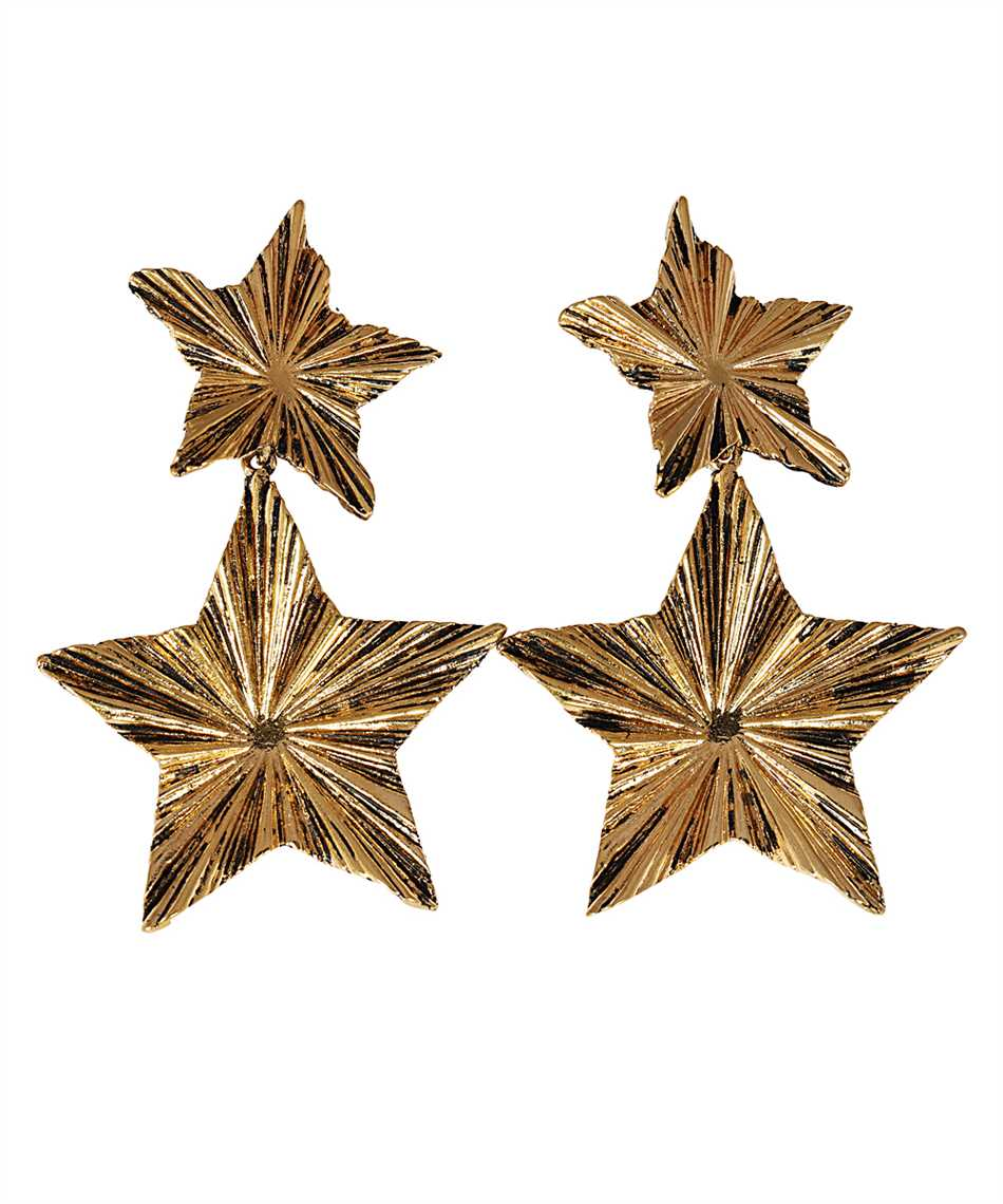 Saint Laurent 633473 Y1500 2 STARS Orecchini 1