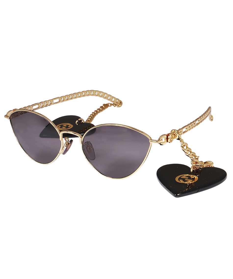 Gucci 663767 I3330 HEART SHAPED CHARMS CAT EYE Sunglasses 2