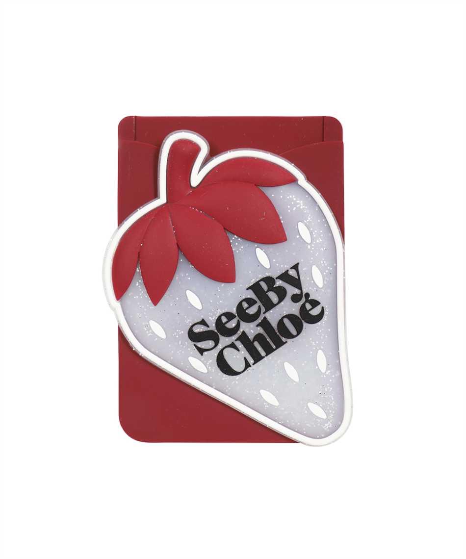See By Chloè CHS21AK649A08 JARDIN DE ROSES Card holder on phone 1