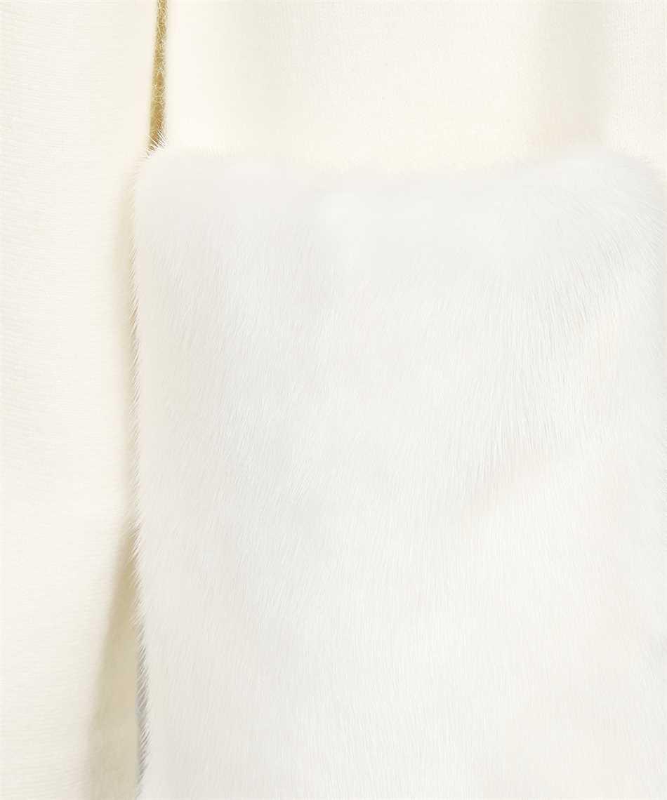 Yves Salomon 22W21WYM51113 MAXW POCKETS MINK Cappotto 3
