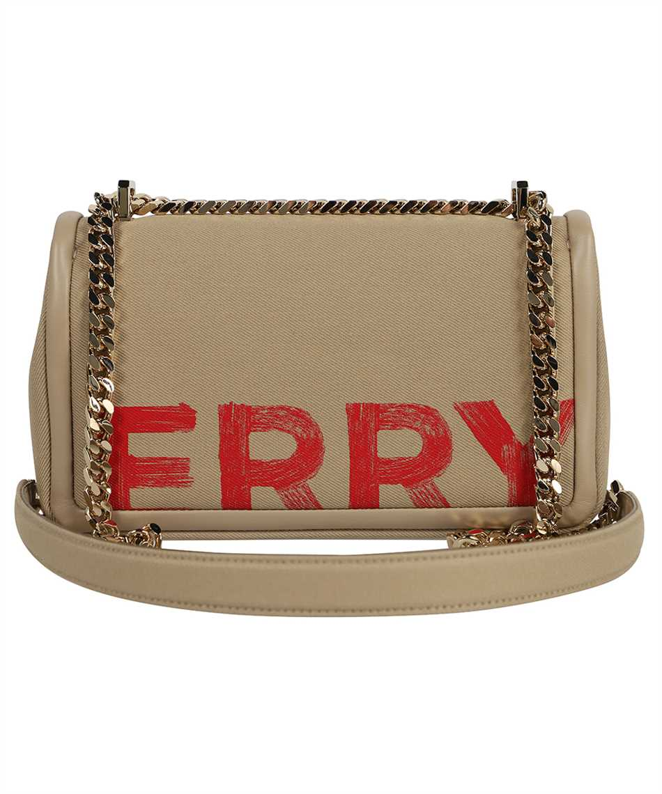 Burberry 8037389 SMALL LOGO GRAFFITI COTTON LOLA Borsa 2