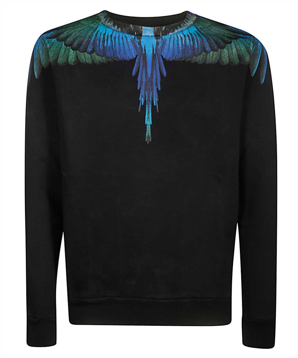 Marcelo Burlon CMBA009F19506006 BLUE WINGS Sweatshirt 1