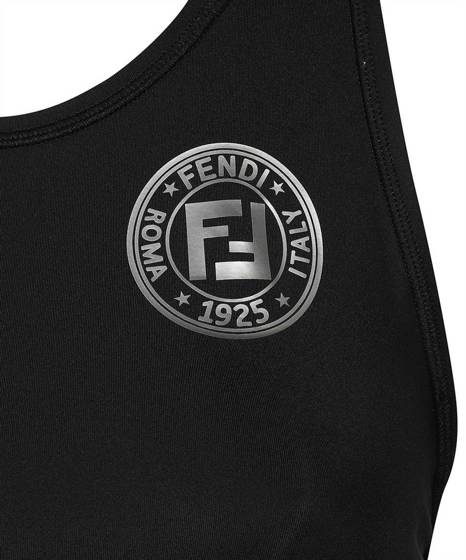 Fendi FAF119 AB4A SPORTS Canottiera 3