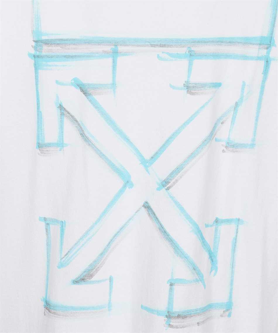 Off-White OMAA119F21JER023 MARKER S/S SKATE T-shirt 3
