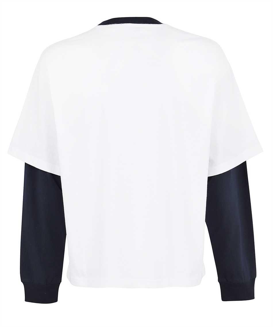 Lanvin RM TS0020 J054 A21 LONG SLEEVE CONTRASTED T-Shirt 2