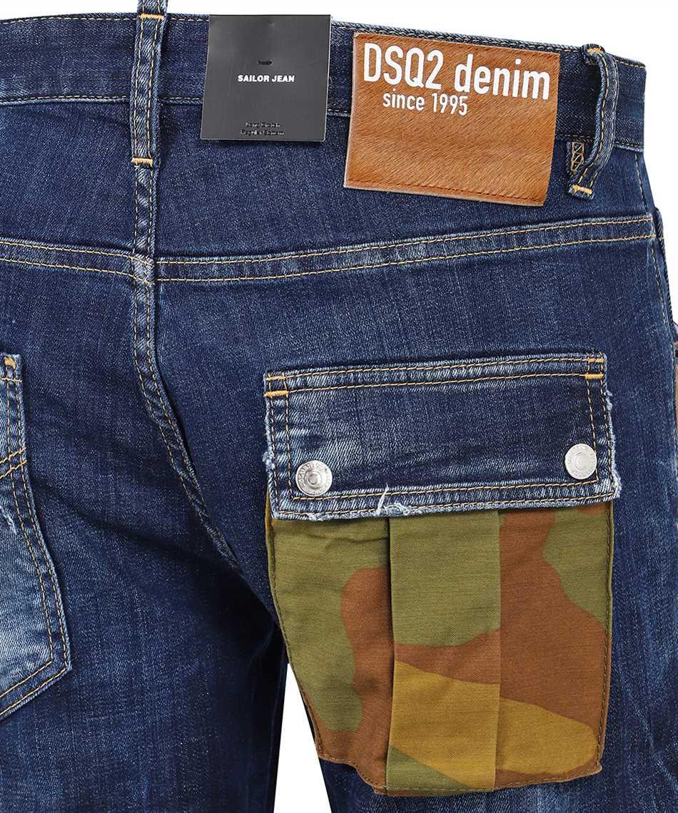 Dsquared2 S74LB0950 S30342 DARK EASY WASH SAILOR Jeans 3