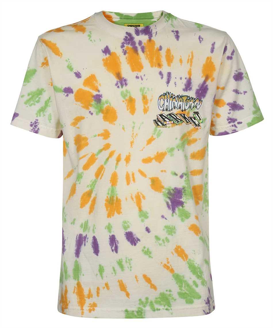Chinatown Market 1990458 BLOCK TIE DYE T-shirt 1