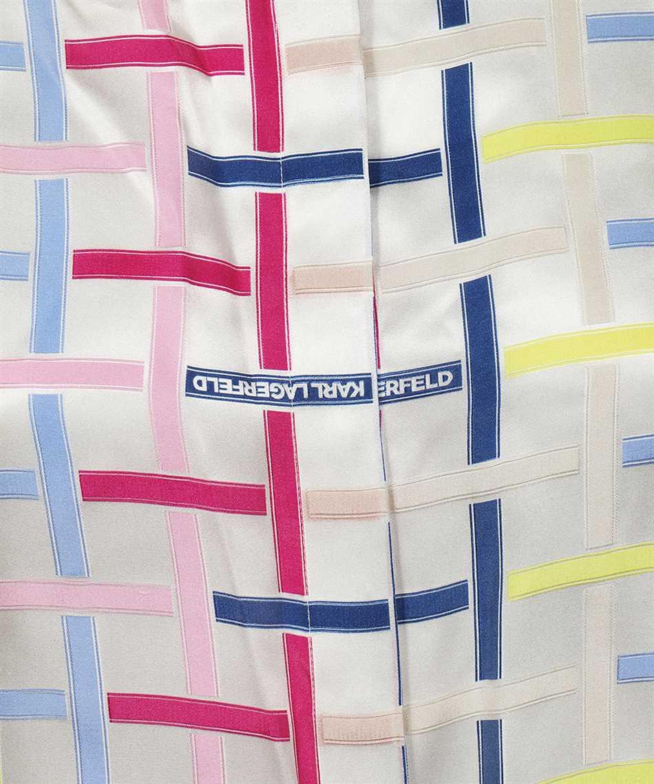 Karl Lagerfeld 215W1603 KARL CHECKED SILK Camicia 3