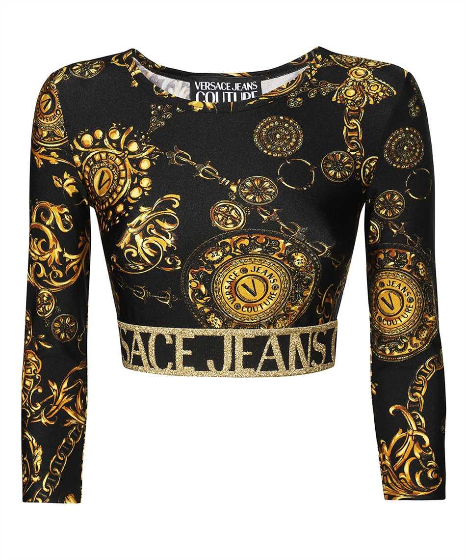 Versace Jeans Couture 71HAH218 JS008 PRINT BAROQUE BIJOUX T-shirt 1