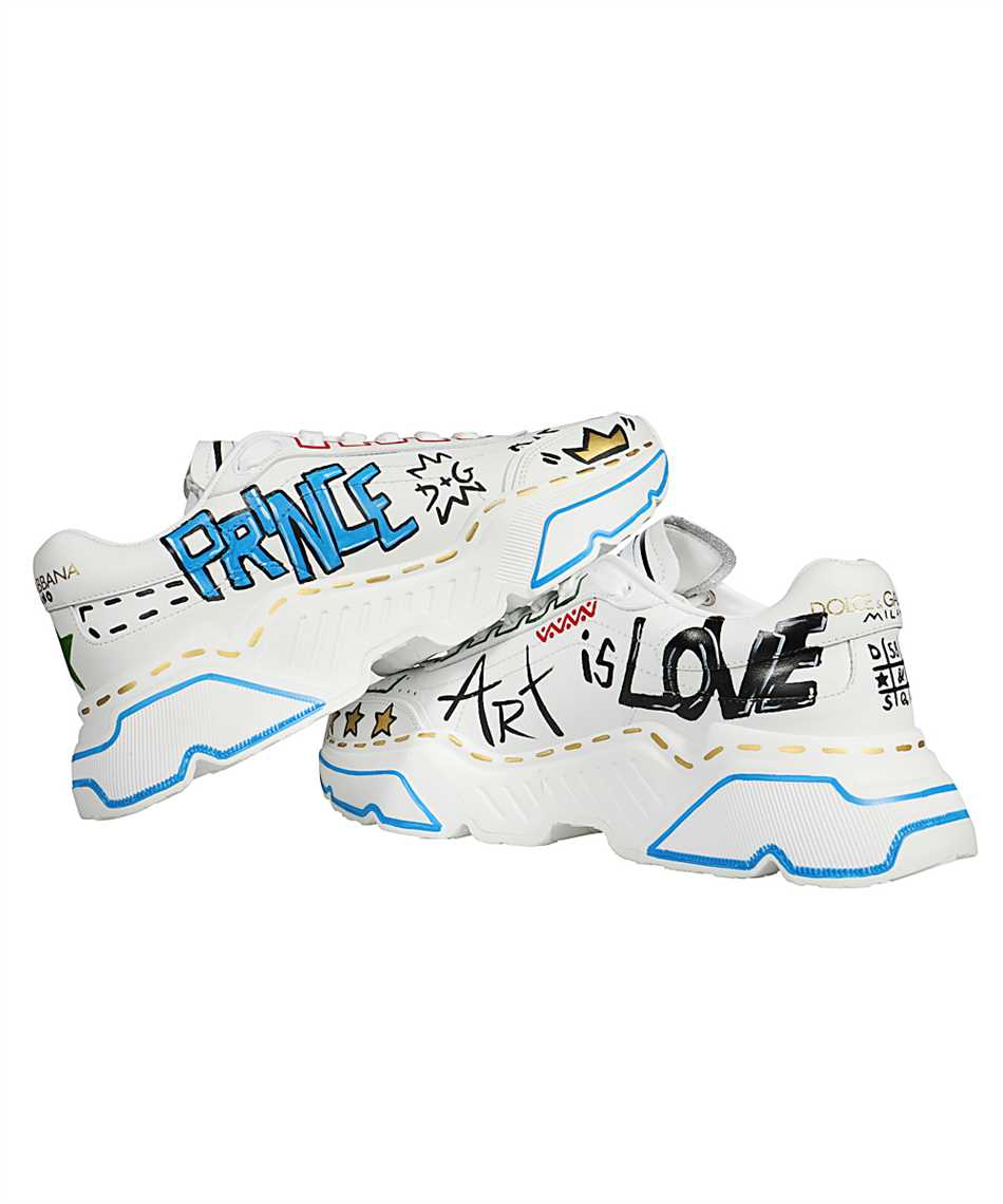 Dolce & Gabbana CS1791 A0233 HAND-PAINTED DAYMASTER Sneakers 3