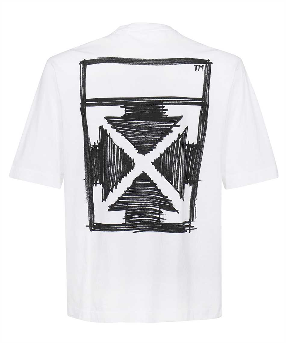 Off-White OMAA119F21JER022 NEGATIVE MARK S/S SKATE T-shirt 2