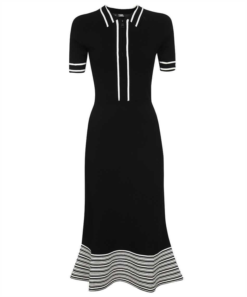 Karl Lagerfeld 215W1364 FLARED KNIT Kleid 1