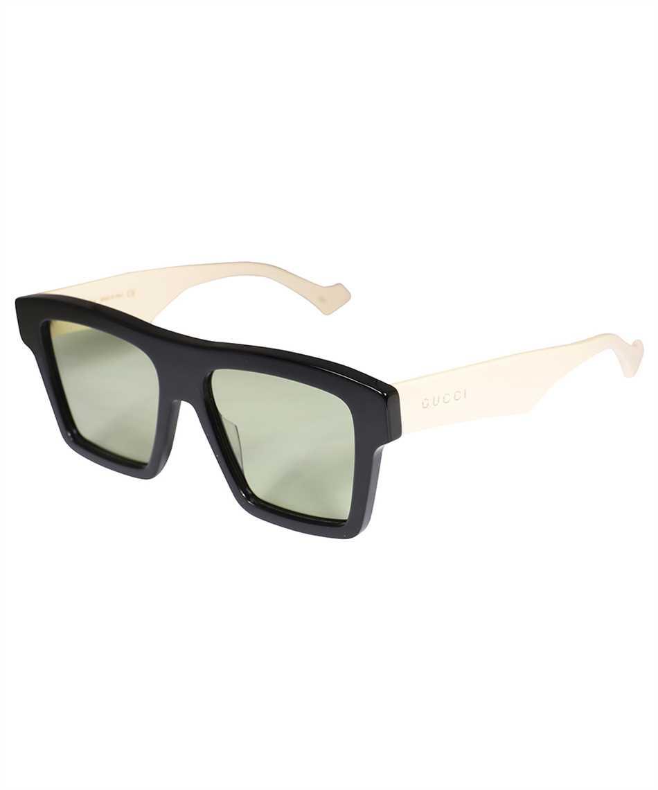 Gucci 663749 J0740 SQUARE-FRAME Sunglasses 2