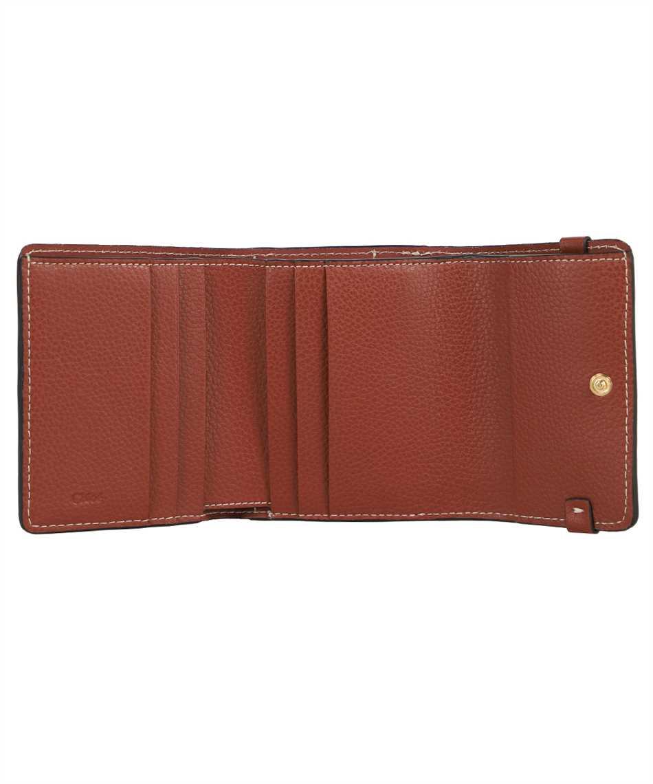 Chloé CHC21UP117E04 SMALL DARRYL TRI-FOLD Porta carte di credito 3