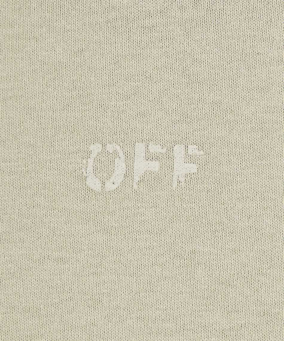 Off-White OMAA027F21JER007 RUBBER ARROW S/S SLIM T-shirt 3