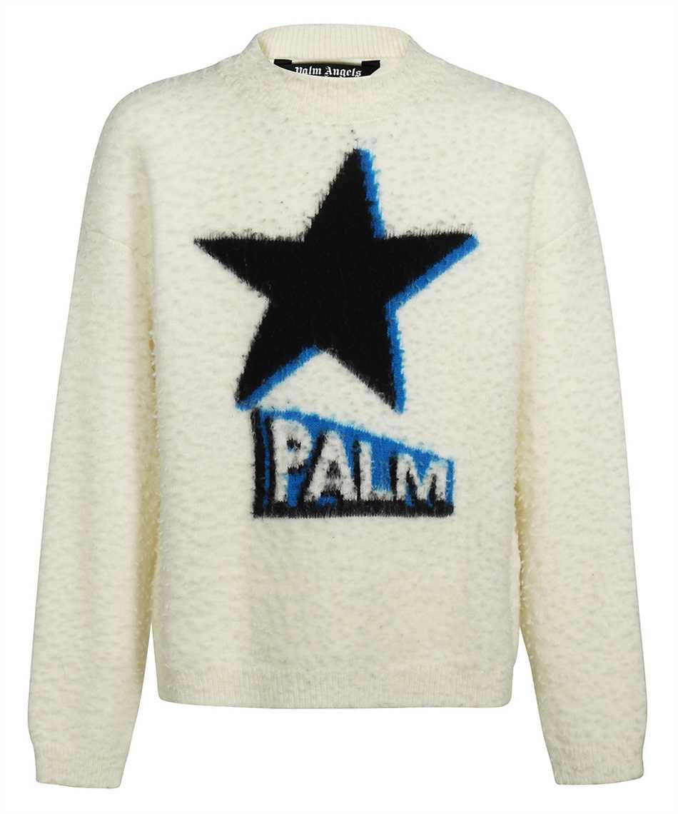 Palm Angels PMHE014F21KNI001 ROCKSTAR Knit 1