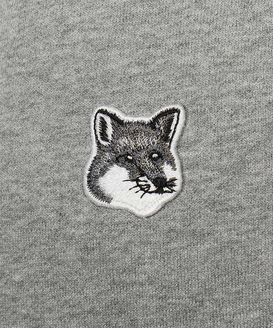 Maison Kitsune GU00335KM0002 GREY FOX HEAD PATCH CLASSIC Hoodie 3