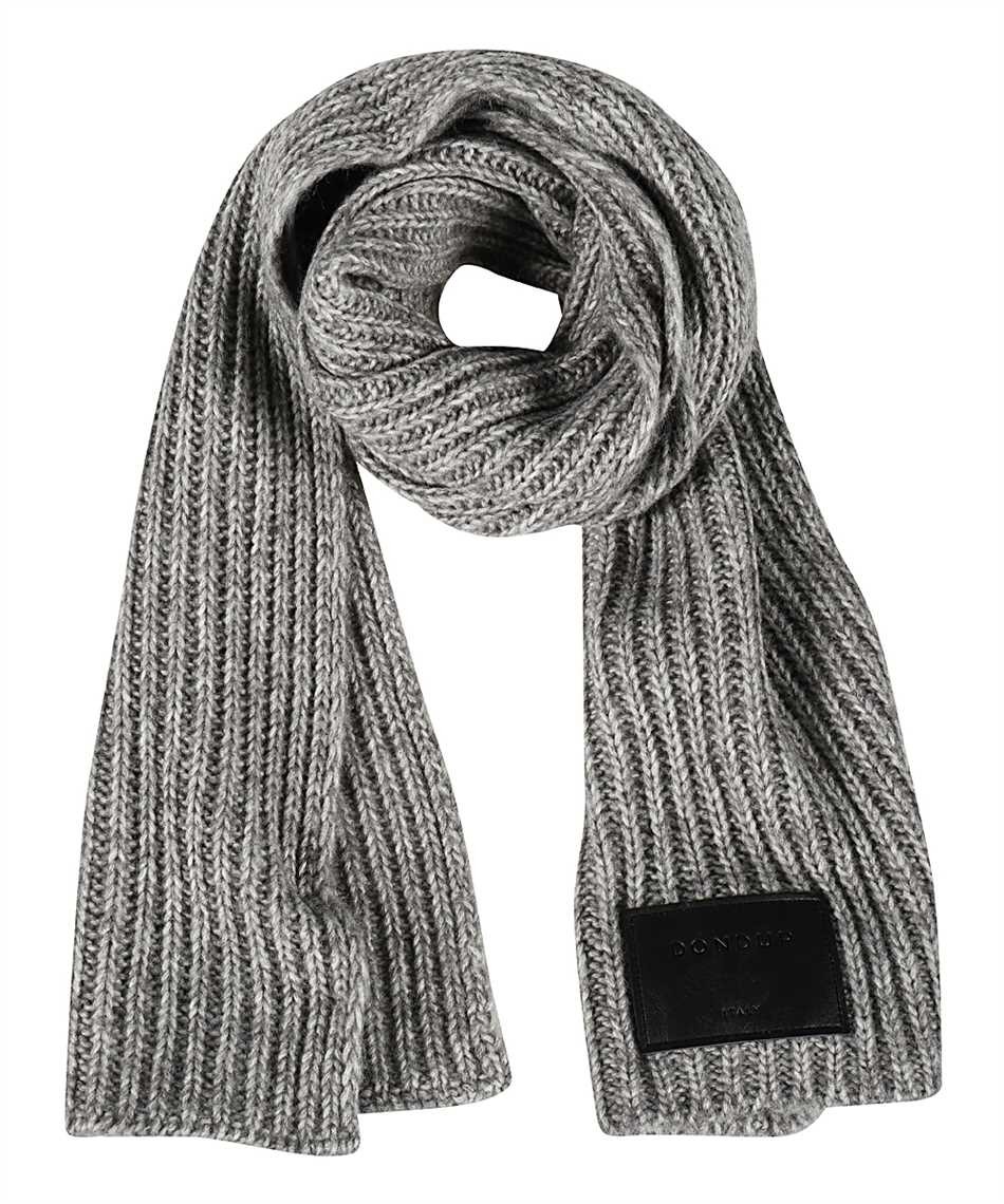 Don Dup WK247 Y00481D XXX LEATHER PATCH Scarf 1