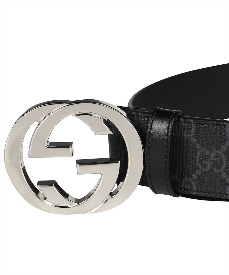Gucci 411924 KGDHX GG SUPREME Belt 3