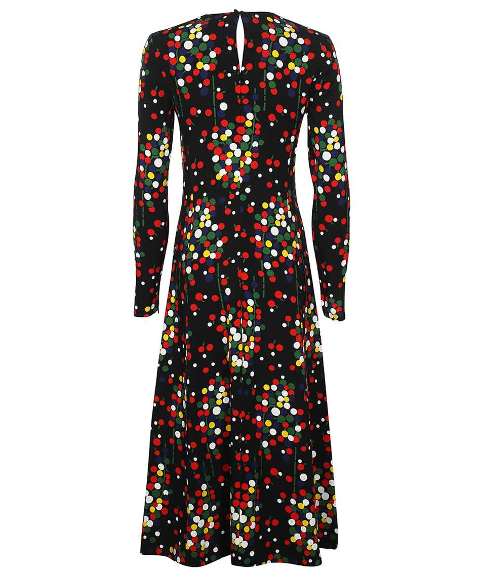 Saint Laurent 663410 Y5D23 CONFETTI-PRINT SABLÉ Dress 2