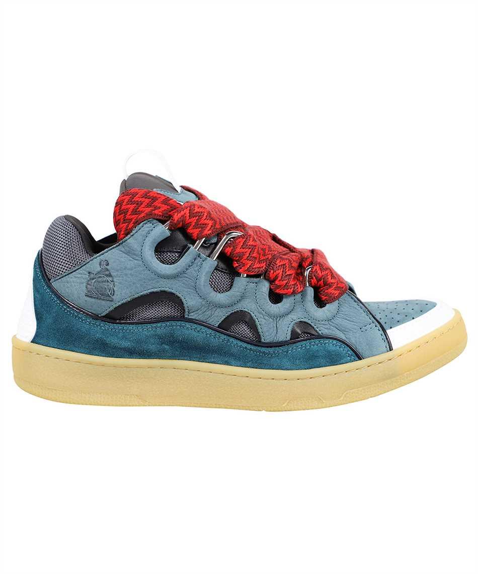 Lanvin FM SKRK11 DRAG A20 LEATHER CURB Sneakers 1