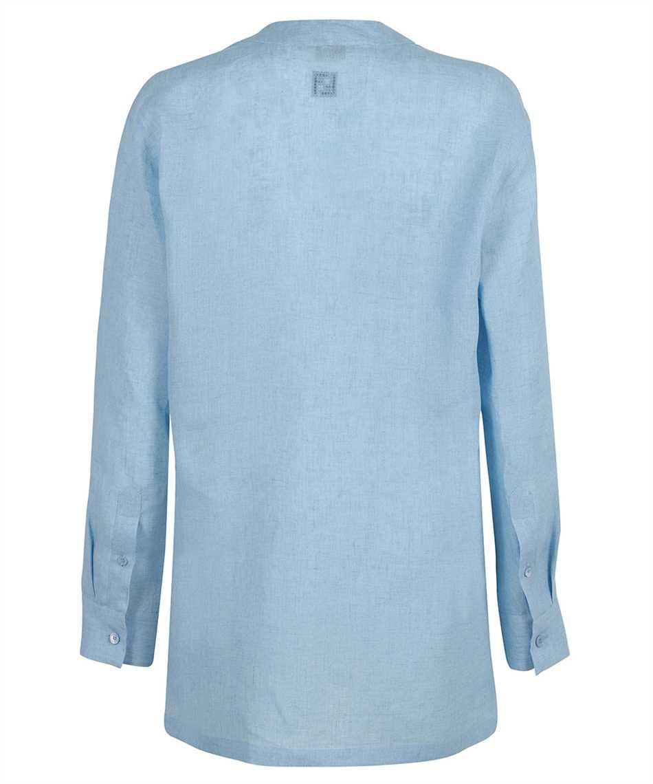 Fendi FS7383 AF7L LINEN MOUSSELINE Shirt 2