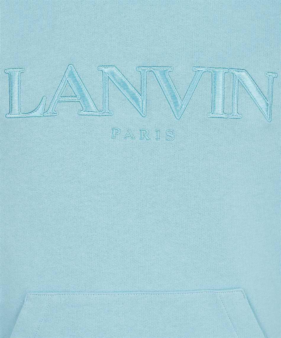 Lanvin RM HO0010 J008 A21 EMBROIDERED LOGO Kapuzen-Sweatshirt 3