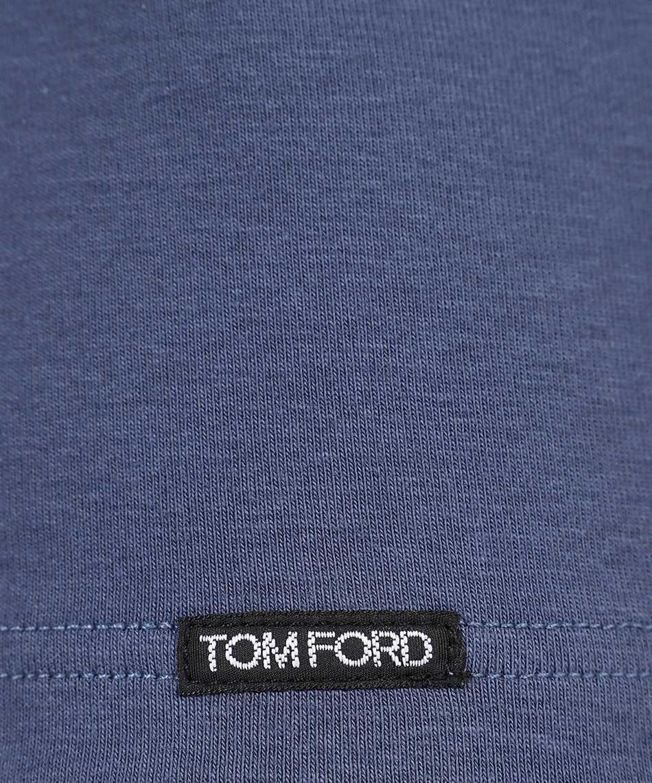 Tom Ford T4M09 104 COTTON V-NECK T-shirt 3