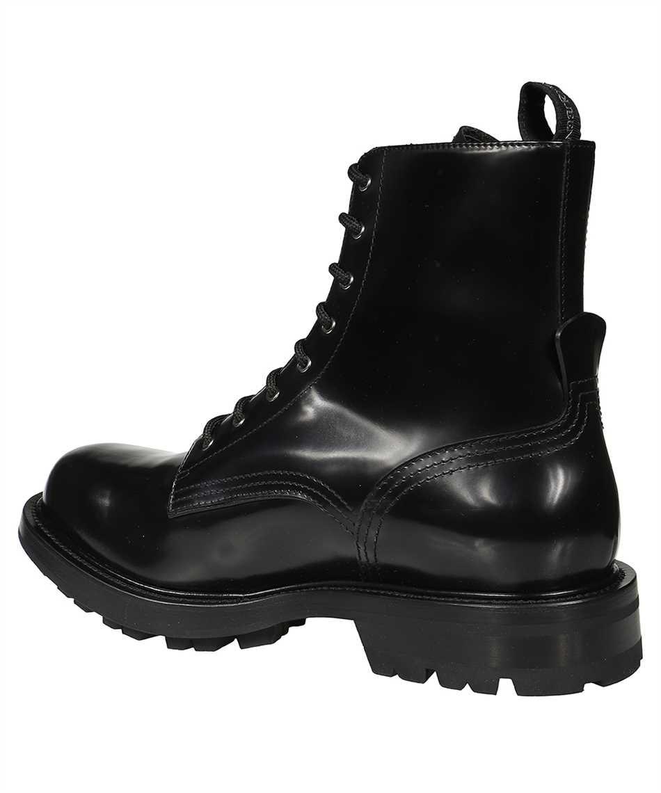 Alexander McQueen 651621 WHZ80 SHINY LIQUID WORKER Boots 3