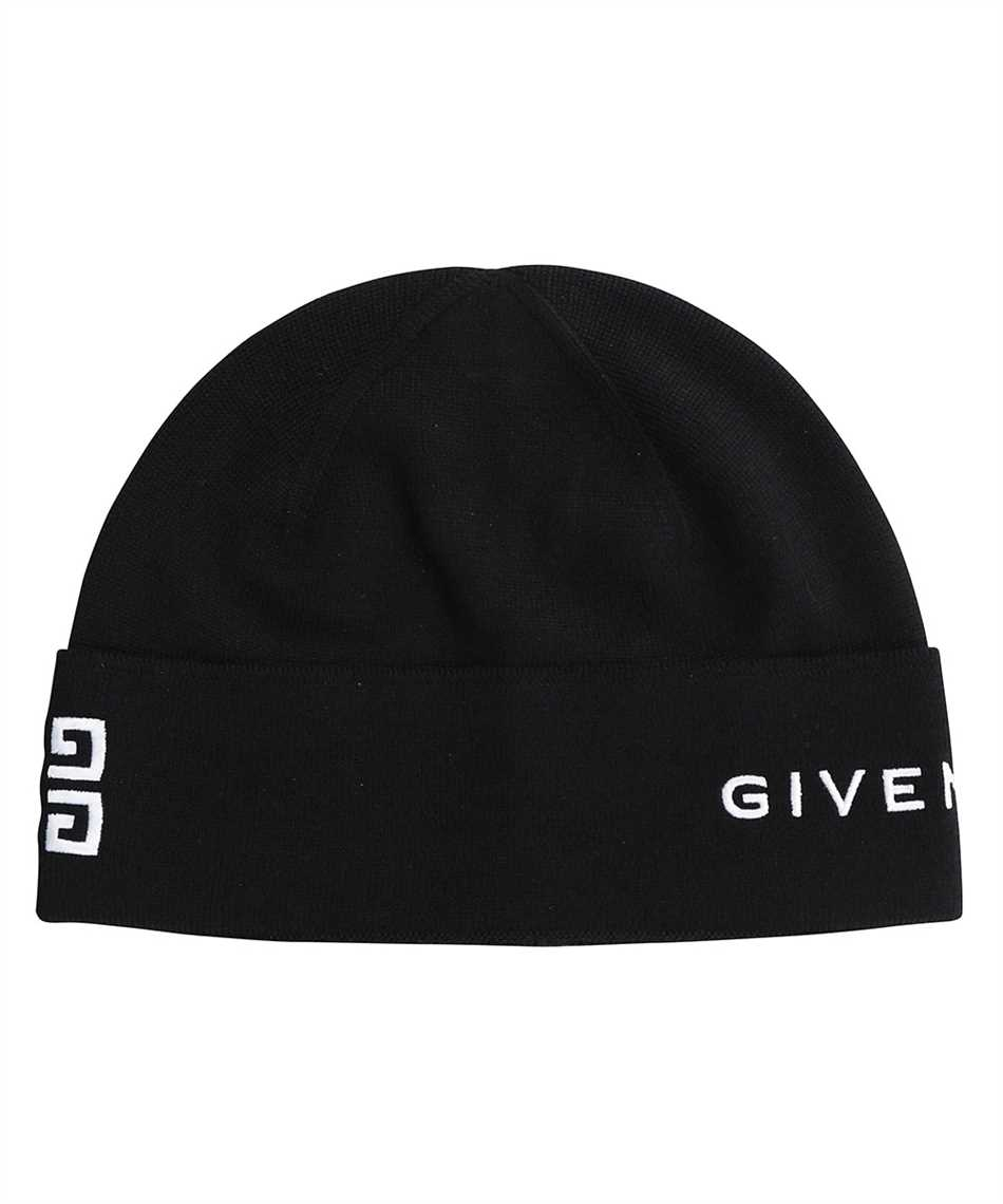 Givenchy BGZ01T G01D 4G GIVENCHY EMBROIDERED WOOL Mütze 1