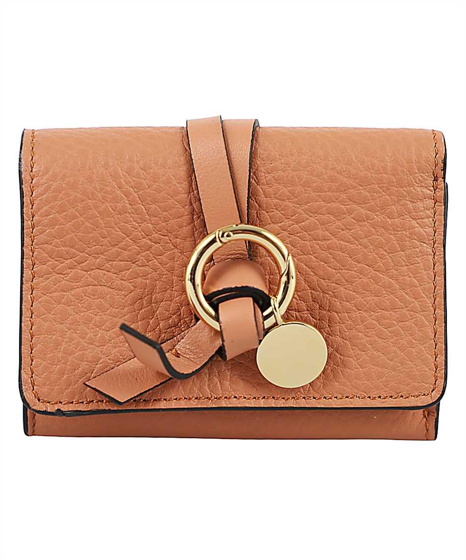 Chloé CHC17UP719H9Q ALPHABET MINI TRI-FOLD Wallet 1