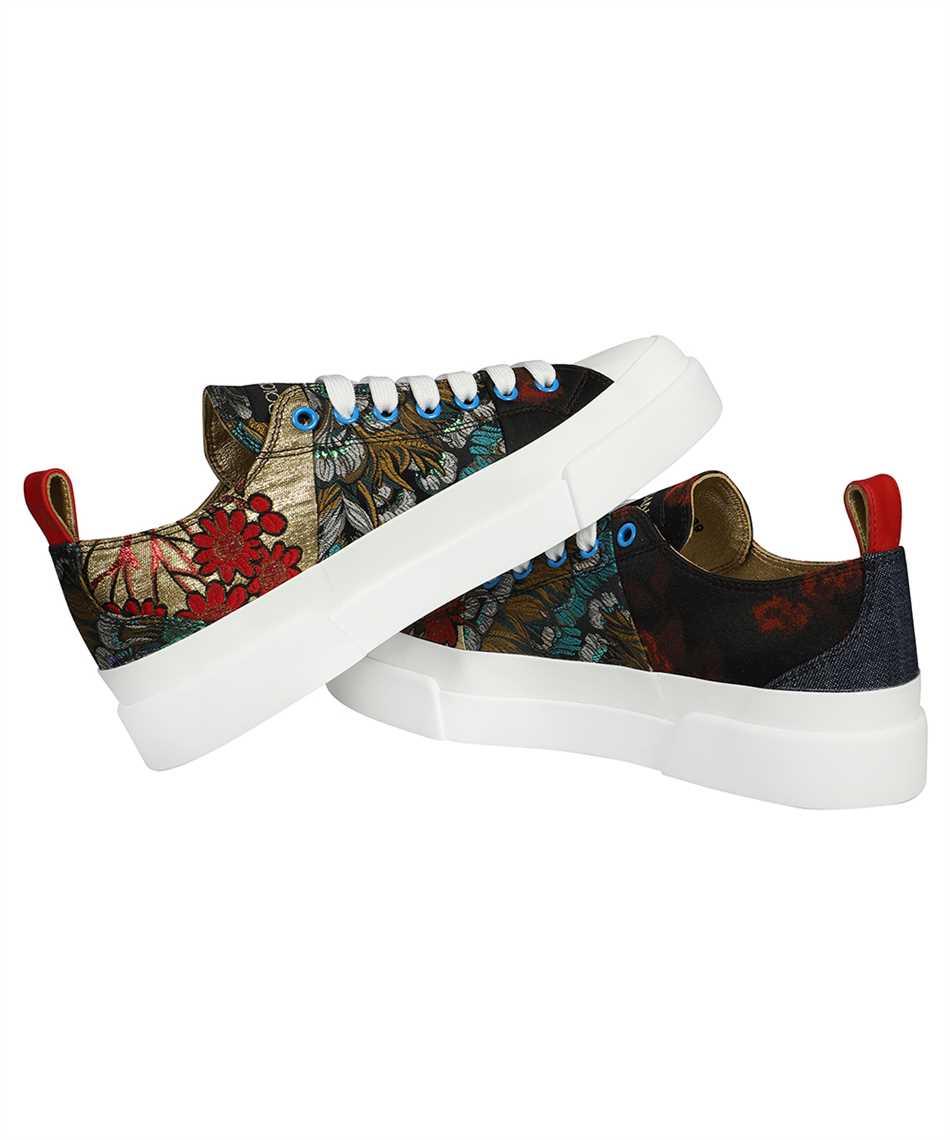 Dolce & Gabbana CK1886 AO683 PATCHWORK FABRI PORTOFINO LIGHT Sneakers 3