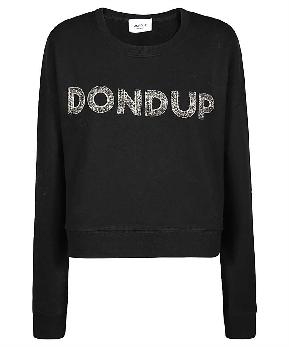 Don Dup F207 KF0136D XXX LOGO PATCH Sweatshirt 1